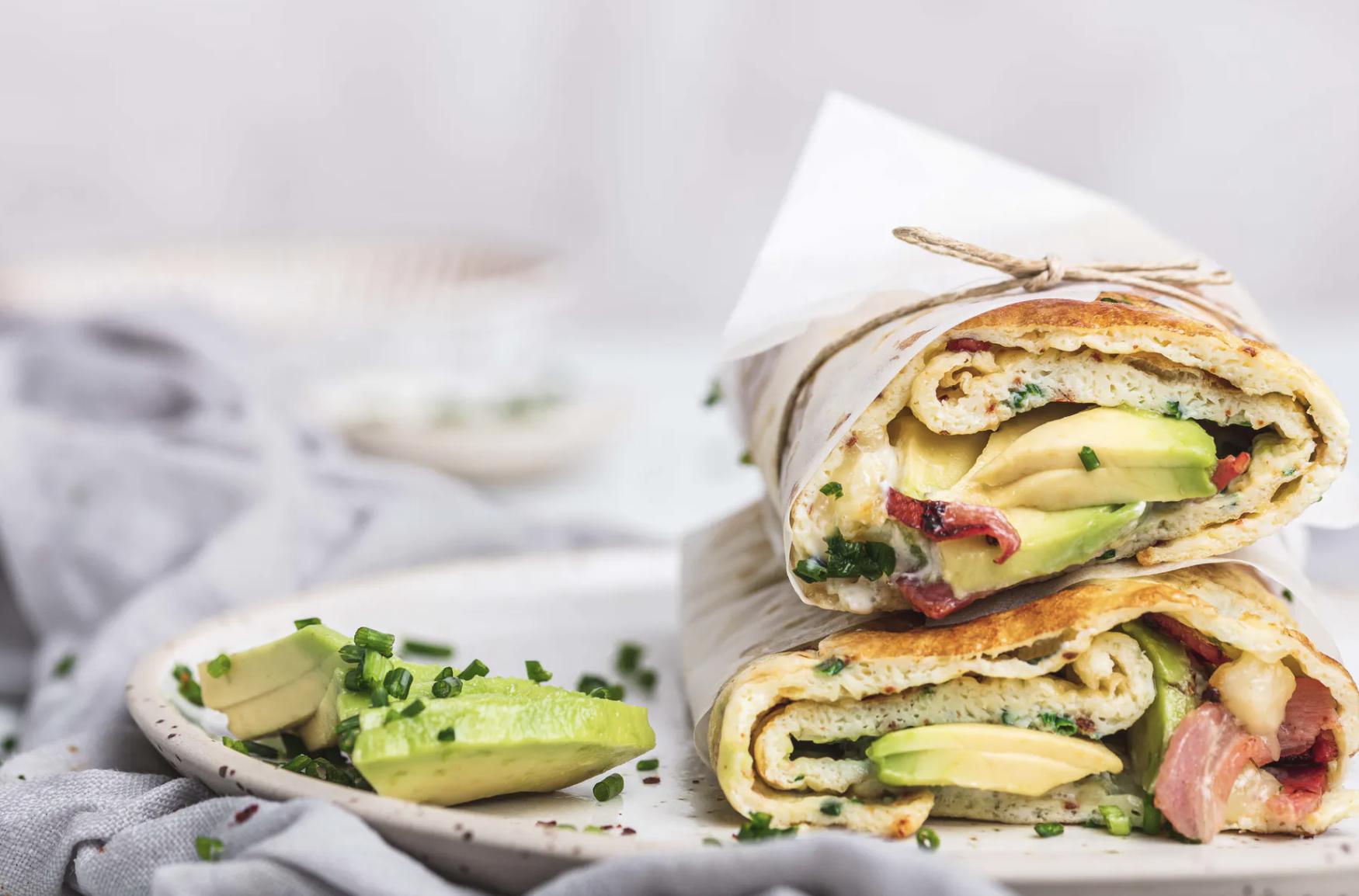 Loaded Breakfast Wrap
